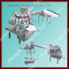 Automatic stainless steel raw eggs shelling machine 008615138669026