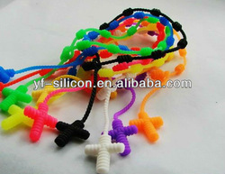 Silicone magnetic beaded necklaces