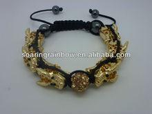snake shamballa bracelet