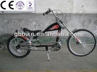 24-20 black men single speed chopper bike