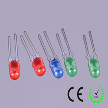 high brightness emiting diode 5mm oval led for different use