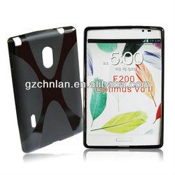 for LG optimus VU II F200 X tpu gel case