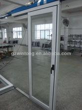aluminium single track sliding door