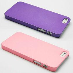 Solid color matte hard case for iPhone 5