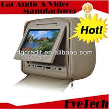"""HD906T: 2 x 9"""" HD Headrest CD Player"""