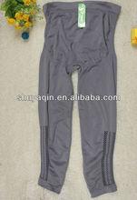 2012 new legging pregnant woman grey high waist long leggings