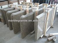 Carioca Hot Granite Special Shape with Laminated Edge A Grade Stone Countertop