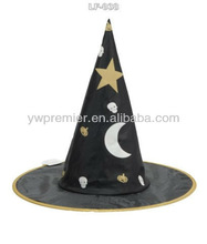 Carnival Witch hat with star and moon