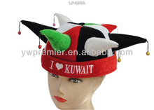 Event hat with national flag ( I love Kuwait)