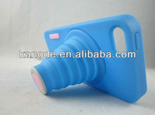 silicone camera protective case for iphone