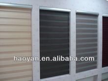 2012 new design roller blind 100% polyester yarn from korea zebra window shade