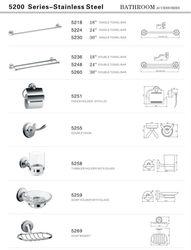 Hotel Stainless Steel Bathroom Accessories 5200 series