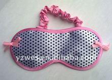 Pink lovely and spot broken flower fashion sleep mask