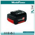 Batteries sans fil de machines-outils de la batterie 14.4V 3ah de foret de Bosch