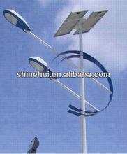 2012 Hot sale 20W Motion sensor control- integrated solar street light CSSTY-220