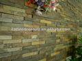 folheado ardósia empilhados telha da parede