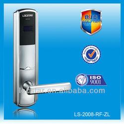 electronic swipe card hotel door lock for star hotel