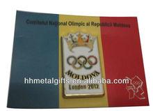 2012 metal olympic pin badge