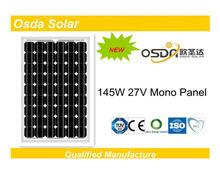 ODA145-27-M Mono 145W solar panel price