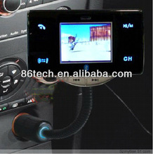 2012 Newest cheapest handsfree 1.8inth Car mp4 player with bluetooth