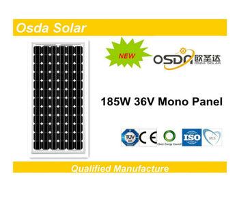 ODA185-36-M Mono 185W price per watt solar panels