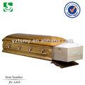 Incinération casketsJS-A415 de plaque métallique simple