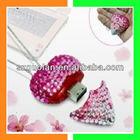 USB 1.1 USB2.0 2GB Bling Bling Diamond Love Heart USB Flash Drive