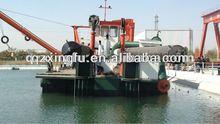 River sand suction dredger ship for sale