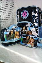 stock girl school bag set with pencil case shoulder bag