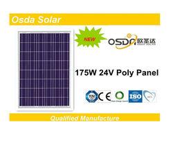 ODA175-24-P 175W the lowest price solar panel