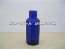 2012 hot sale factory sale glass bottle /blue glass bottle/30ml blue glass bottle and also other capacity