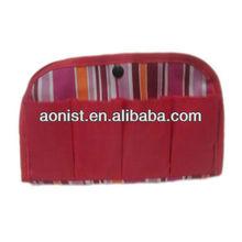 Fashion mini polyester leather cosmetic bag