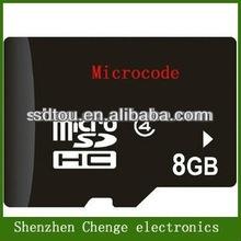Manufacture Micro SD memory Card Class10 8gb for Hyundai i30 gps navigation player