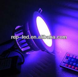 High quality IR RGB color 3*3w led Christmas decoration light adopting USA Bridgelux chip