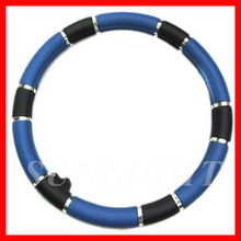 rubber steer wheel cover leather steering wheel cover