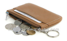 leather wallet coin case