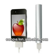 2012 most popular 2600mah Universal portable power bank battery charger for Iphone5