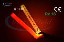 4.5*40cm multi color changing led foam foam led cheer stick