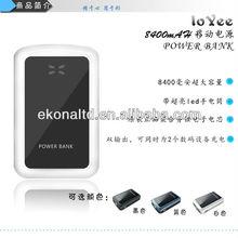 8400mah Battery powered portable heater for sony VGP-BPS13 batteries Apple iPad iPhone iPod samsung galaxy s3 32gb
