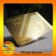 High Quality! Full Printing Gold Foil Business Card (Top 10 Global NET-Entreprenurs)