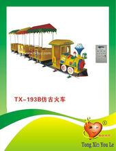 electric model train , amusement pakr train rider