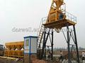 Compresor de aire, hzs50 de proceso por lotes de hormigón de la planta para la venta