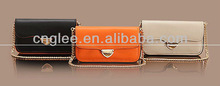 real geniune leather handle mini women bag