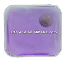 Rectangle food grade sodium acetate heat pad hand warmer new hot products for 2012(CE/FDA /MSDS approved)