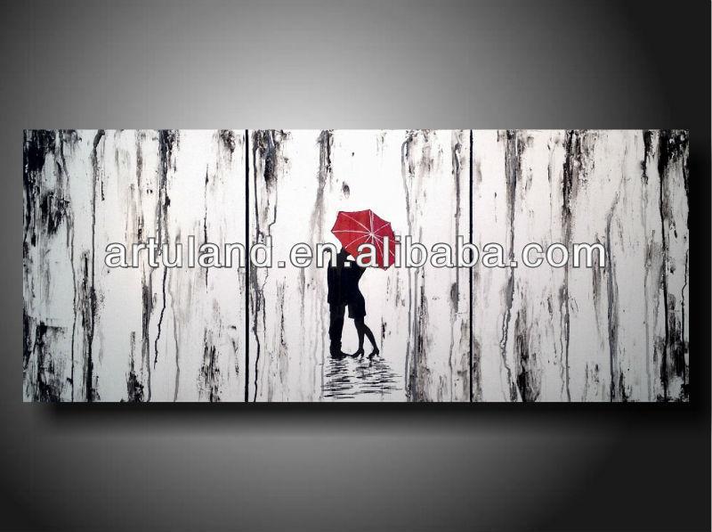 Pinturas abstractas blanco y negro - Imagui