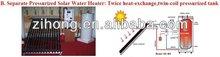 solar water heater with Keymark