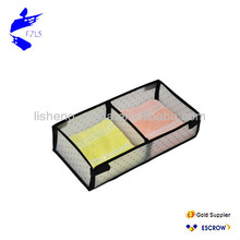Printing PP Board 2 Grids Storage Box
