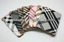 luxury chrome case back cover for mini ipad
