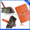 Handbag style protective case for iPad mini,stand design,card pockets inside.