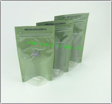 QS Eyelash Packing Stand Up Foil Bags